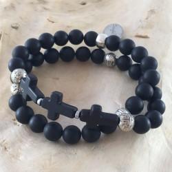 BDH-102 - Bracelet double homme
