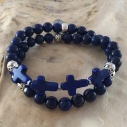 BDH-104 - Bracelet double homme
